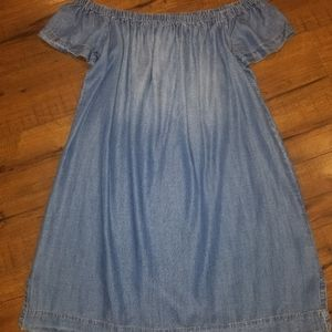 Cloth & Stone Chambray Dress